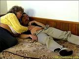 Bunica grasa sparta la cur
