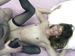 brunette sammi getting fucked in her sweet twat