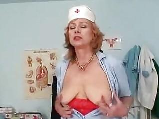 Big Tits Redhead Granny..