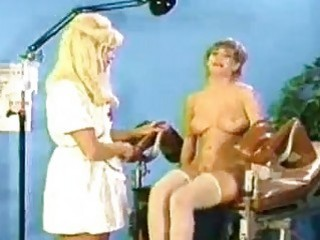 Naughty Blonde Lesbian Nurse..
