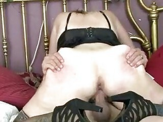 slutty amateur milf gets naughty as she fucks like a youngster