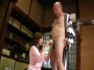 Big Bright Japanese Baby Loves To Hit With Old Hairy Men