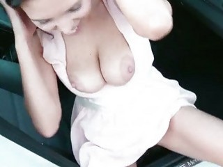 busty amateur kira queen fucked outdoors
