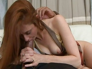 Cheating wife suck her new..