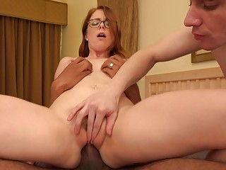Redhead Wife Makes Her..