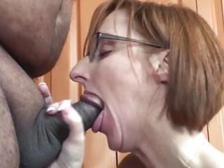 Layla Redd is blowing a dude..