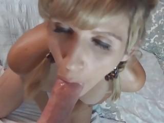 Jolene is masturbating and..
