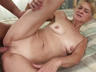 A Naughty Mature Lady Gives A Young Boy A Special Surprise