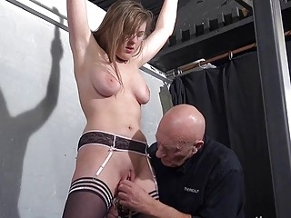 Sexy Slave Taylor Heart Pussy Clogged With Suffering