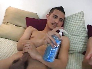 Absolutely Free Hot Sexy Gay Porno Video Serving A Damien Condom, He Put