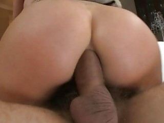Chick acquires lusty workout for her anal tunnel