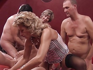 German Swingers Get An Interview Before Having A Wild Group Sex Party
