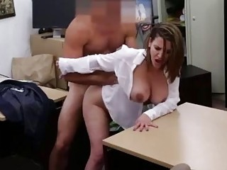 Ebony Ass Blowed White Cock Foxy Business Lady Gets Fuck!