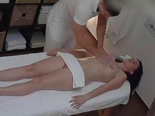 Brunette Of Czech Girls Gets Hard Fuck In Massage Rune