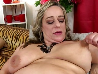 The Fierce Blonde Stripes And Brutally Fingers Her Mature Love Tunnel