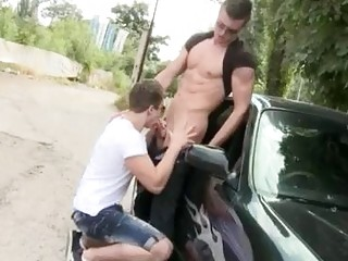 Naked Men Exposed To The Open Air With Erection Gay Sucking Dick And Anal