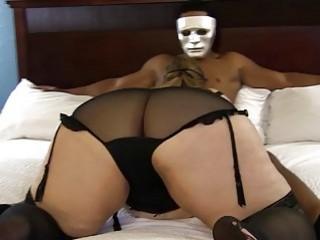 Big Butt Mature Wife Satisfies Hotel Stalker