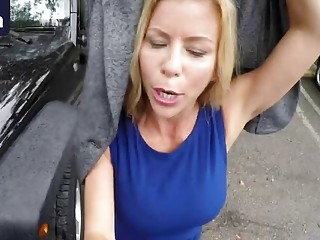 Alpha Mife Alexis Fawx Gets Her Pussy Broken Up In The Tow Truck