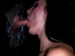 Excited brunette blow gloryhole dick samantha jaymes | Porn-Update.com
