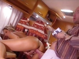 filthy whore daria glower gets a sweet snatch slamming on the road
