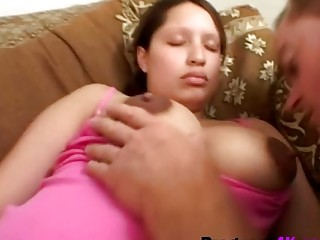 Pregnant whore woke up by her guy and fuck heavy in doggystyle | Porn-Update.com