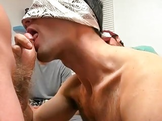 Lovely Twink Enjoys Cock Sucking