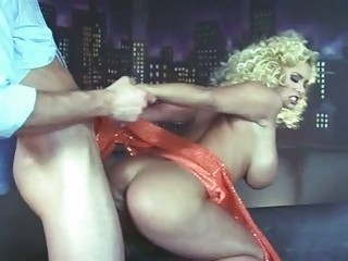 bootylicious blonde milf with huge breast gets slammed doggy style
