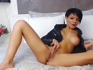 Gorgeous Brunette Aleksybely With Big Tits Masturbates With Juicy Pussy Erinaopk