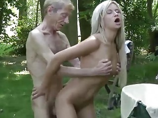Old Young Porn Textbook Gold Digger Anal Sex With Old