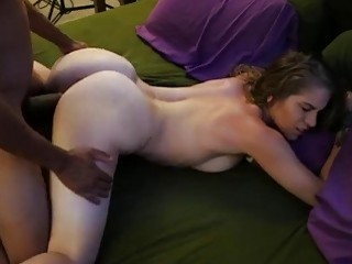 Sexy Young White Girl In A Hot Interracial Action From The Bible