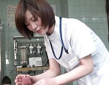 Subtitles CFNM Japanese female doctor handjob | Porn-Update.com
