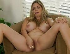 Busty Milf Gabriela Mendoza dildo Fucks | Porn-Update.com