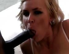 Horny escort slut likes pleasing black monster cock interracial porn | Porn-Update.com