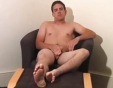 Adam teases you with his feet and cock | Porn-Update.com