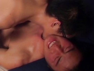 A Cute Asian Gay Guy Impresses His Lovers With A Big Shot