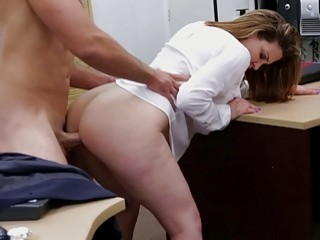 The Business Lady Throws Her Pussy And Gets Fucked