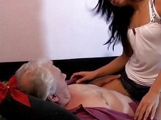 Blonde Teen Masturbation Bath Breuze, Dirty Old Guy Loves