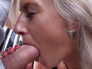 Mofo Hot Blonde Sucking Dick For An Elevator