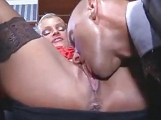 Office Mature Lady Fucked On The Table