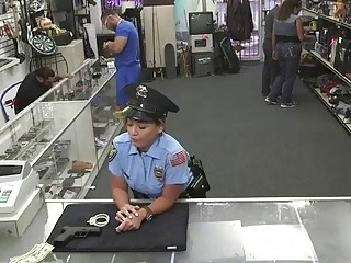 Naughty police officer gets paid to suc and gets make love   Porn-Update.com