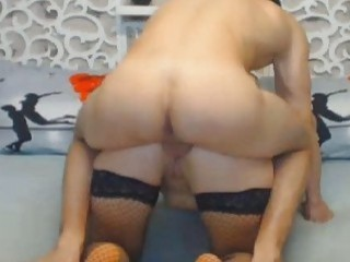 Amazing Guy Gets An Anal Fuck From Behind On The Living
