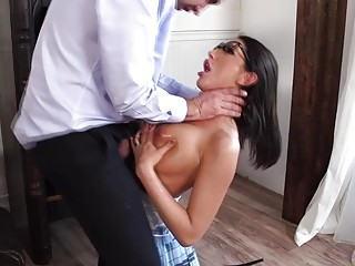 Keiran Lee plowing on August Ames pussy
