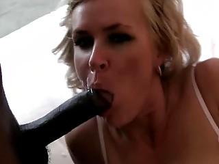 Sexy Whore Slut Loves A Nice Black Monster Cock Interracial Porn